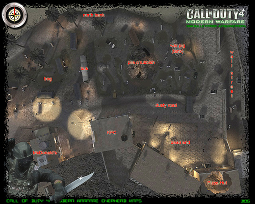 call of duty 4 maps. Submit map tips in our Call of