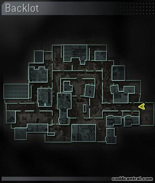 CoD4 Backlot Map