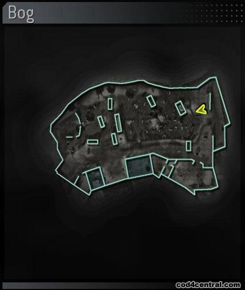 CoD4 Bog Map