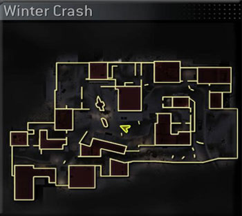 CoD4 Map Winter Crash