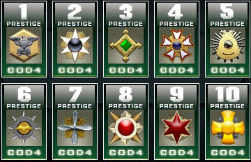 call of duty world at war prestige icons