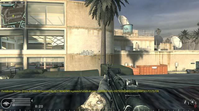 CoD4 MP5 Recoil