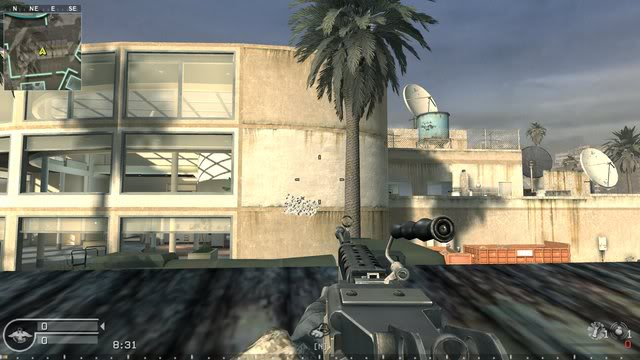 CoD4 SAW Recoil