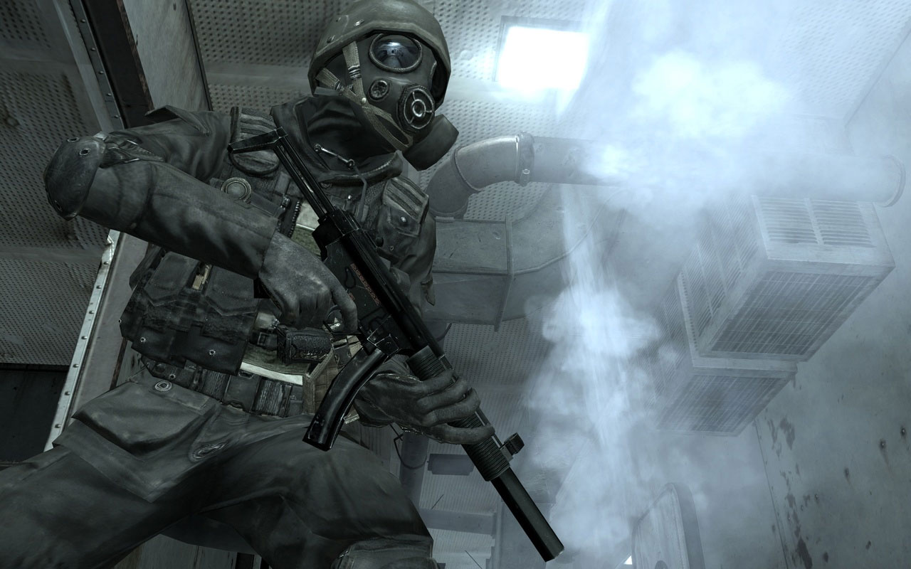 Here are some screenshots from call of duty 4. click each one to view