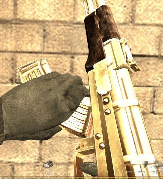 CoD4 Golden AK47