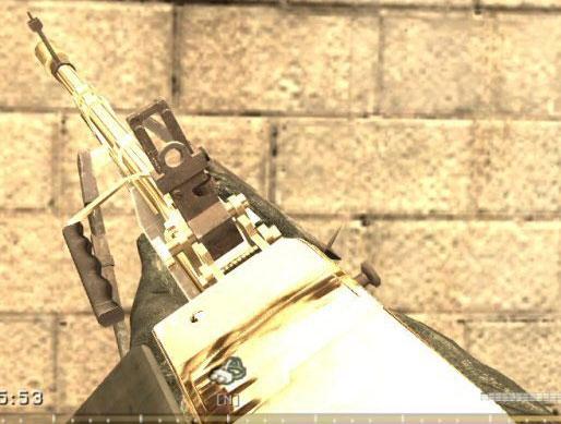 CoD4 Golden M60