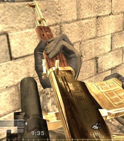CoD4 Golden Sniper
