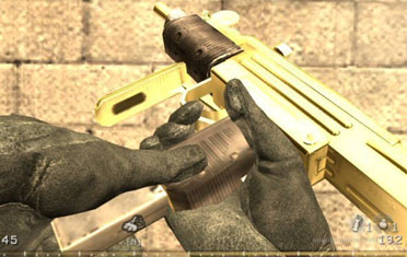 CoD4 Golden Uzi