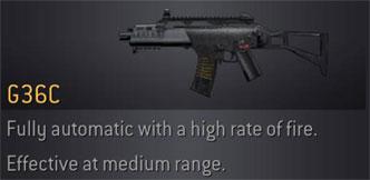 CoD4 Weapon G36C