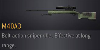 CoD4 Weapon M40A3