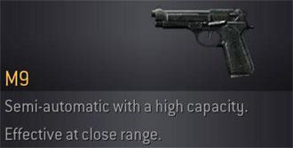 CoD4 Weapon M9