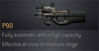 CoD4 Weapon P90