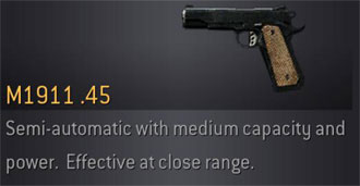 CoD4 Weapon M1911