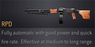 CoD4 Weapon RPD