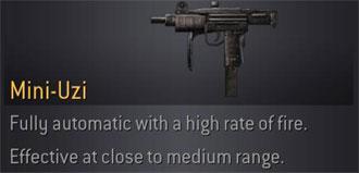 CoD4 Weapon Uzi