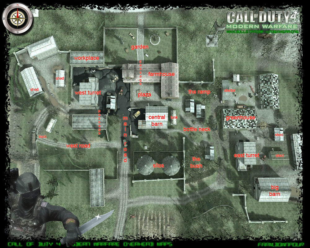 CoD4 Central | CoD4 Maps Downpour High Resolution | Modern ...