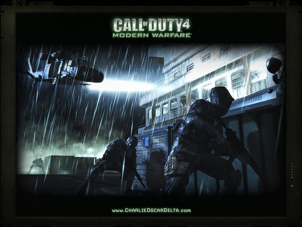 Cod4 Central Cod4 Wallpapers Modern Warfare